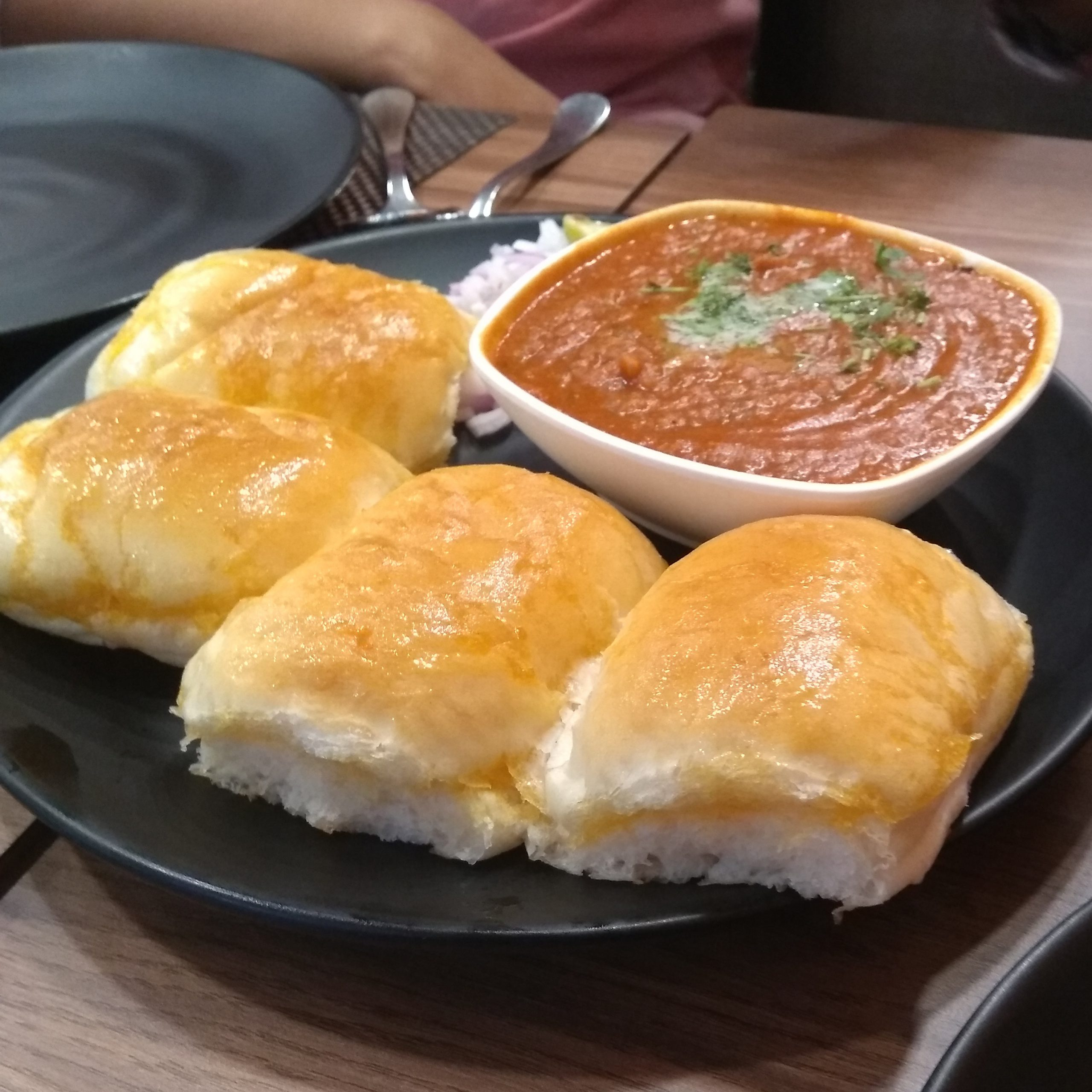 Butter Pav Bhaji at our food blog