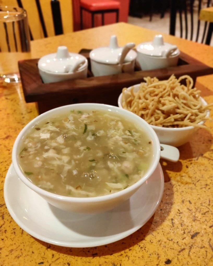 Chicken Monchow Soup at our food blog