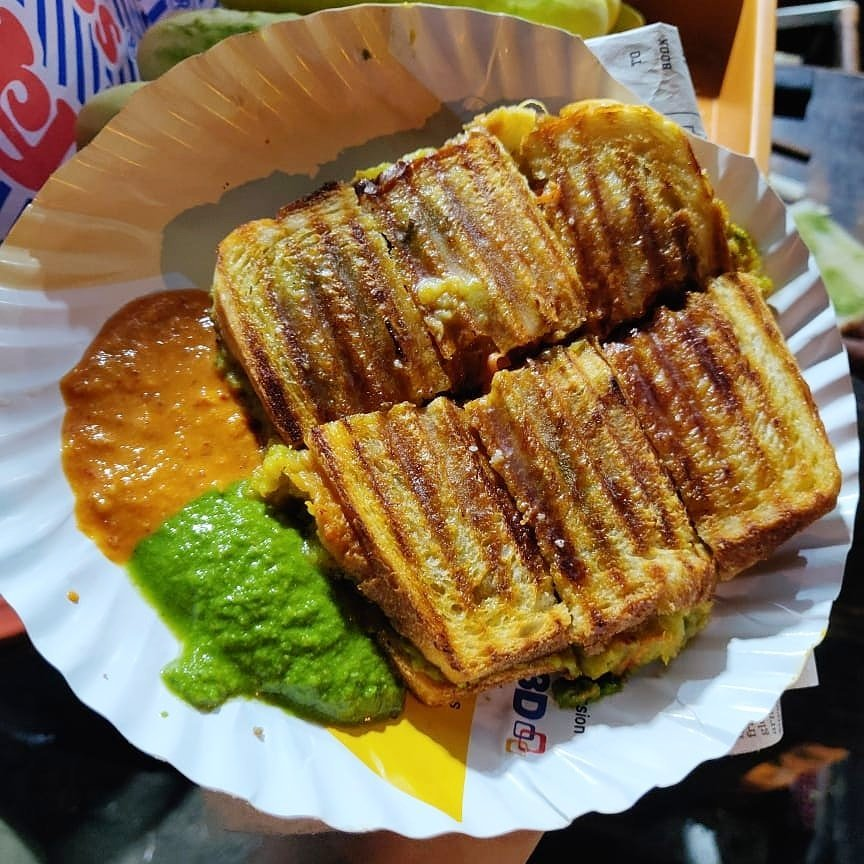 Masala Toast Sandwhich at our food blog