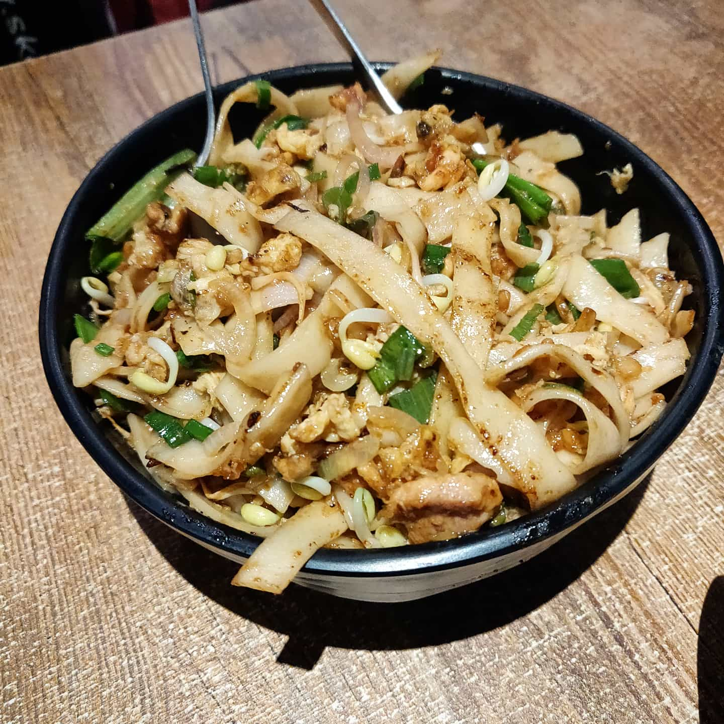 Malasian Flat Noodles at our food blog