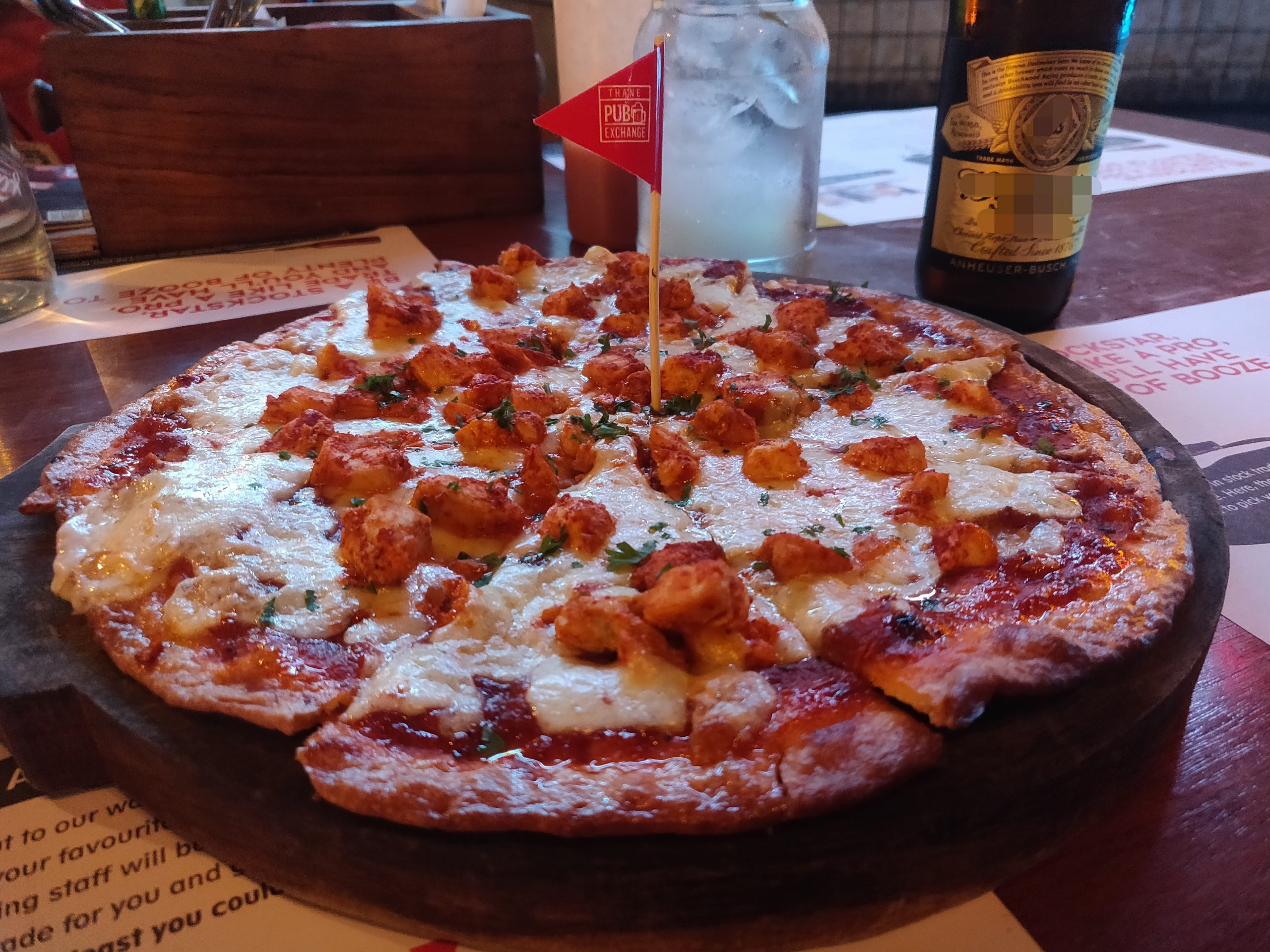 Chicken Tikka Pizza at our food blog