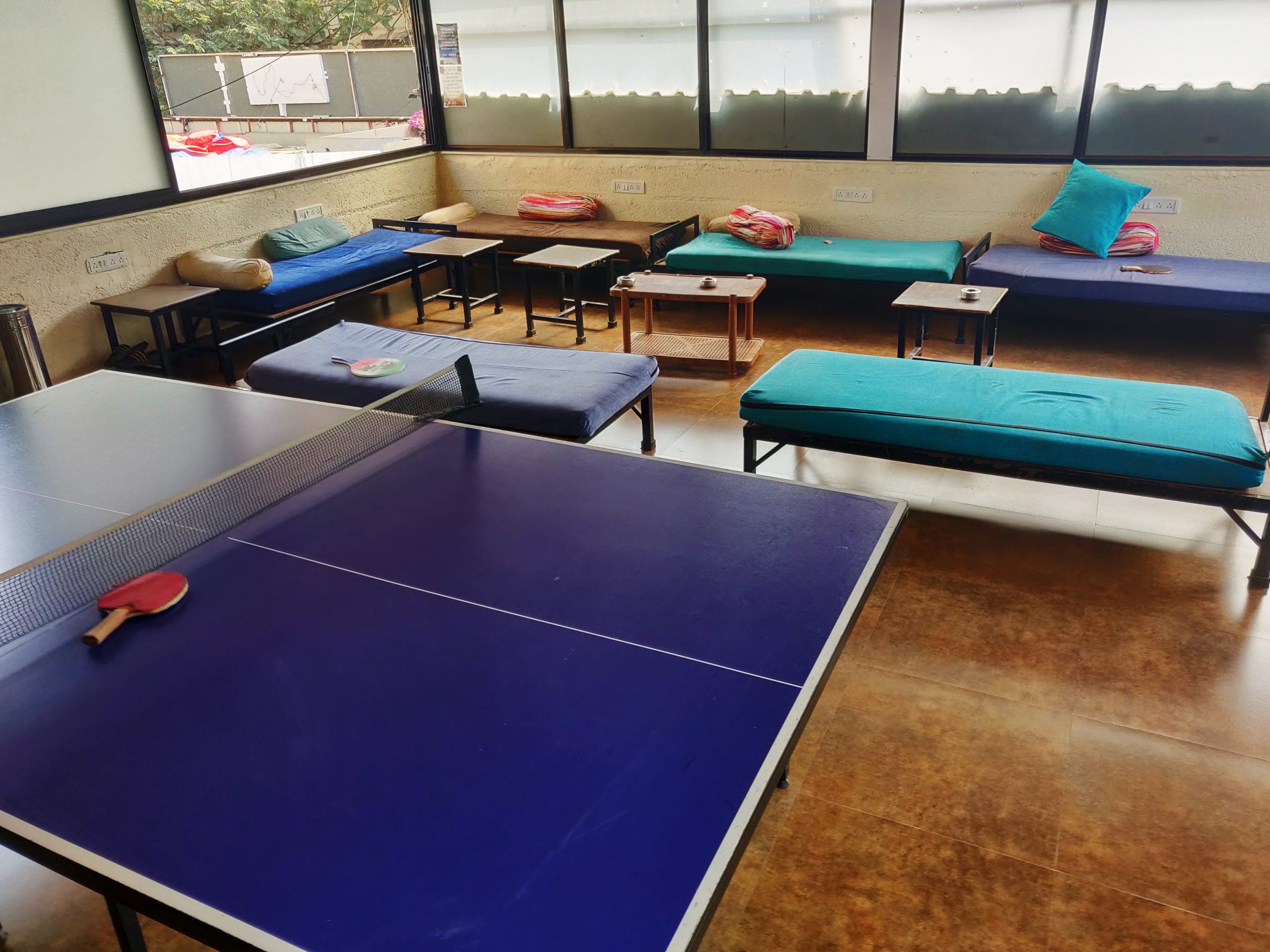 Rooftop Games at Zostel Mumbai